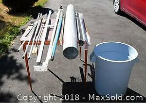 Older Fishing Rods, Miter Stand and Odds and Sods