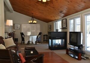 Prince Edward County Waterfront Home for Rent Oct 1
