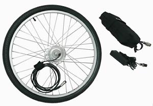 EzPedal Ebike Conversion Kit - motorized front wheel -easy to do