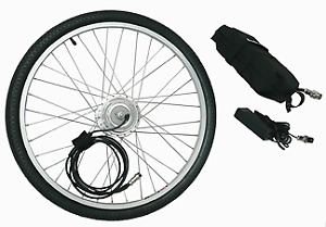 EzPedal Ebike Conversion Kit - includes quality lithium battery