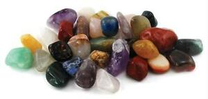 1 Lb Mixed tumbled Stones Wicca Spiritual Mysticism Witchcraft Magical Pagan