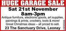 HUGE GARAGE SALE Leonay Penrith Area Preview