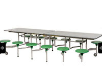 12 Sico snap down 12 seater dining tables - sensible offers