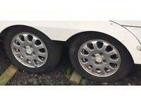 Caravan Alloys set of 4 with tyres.