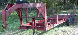 Looking for 20' to 30' gooseneck / 5th wheel flat deck trailer Cornwall Ontario image 1