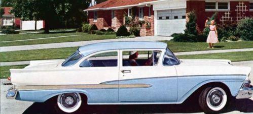 1958 ford custom 300 ebay. Black Bedroom Furniture Sets. Home Design Ideas