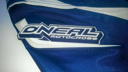 Oneal Motorcross Element Blue and White Motorcross pant