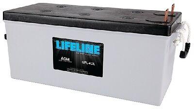 - New Lifeline Agm Batteries batteries Llgpl4dl Group 4D MCA 1360 AH 210 RC 390 20