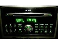 Ford cd132 cd6 car radio 6 disc multi changer