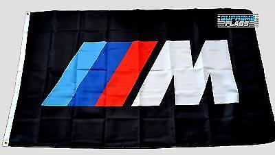 BMW M Series Flag Banner Germany Car Manufacturer Black 3x5 ft