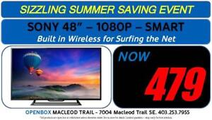 Samsung UN48J5200 48-Inch 1080p Smart LED TV 1 Year Warranty. OpenBox Macleod Sale!