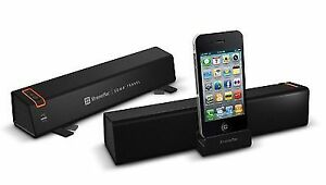Xtrememac Portable Stereo Speaker with Dock for iPod, iPhone and