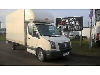 2007 57 VOLKSWAGEN CRAFTER 2.5 35 LUTON BOX WITH TAIL LIFT 135 BHP DIESEL