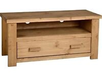 NEW Solid Block TV Cabinet £89 IN STOCK BOXED