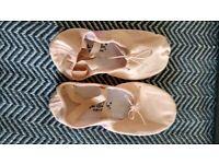 Vegan Split Sole Ballet Shoes - with free bag