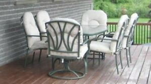7pc Patio Set