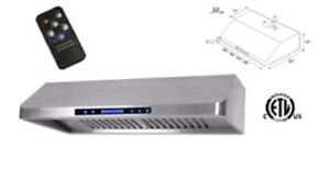 """*Limited Time*Remote Control 30""""1200CFM Range Hood Wall Mounted"""