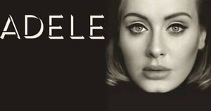 Adele Tickets 2 x Seats together Friday 10 March 17 Sydney Campbell North Canberra Preview
