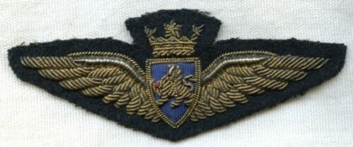 Circa 1940s BOAC (British Overseas Airways Corp) Bullion Pilot Wing