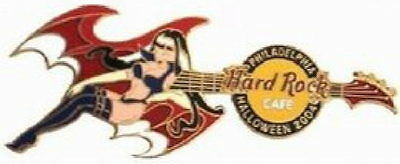Hard Rock Cafe Philadelphia 2004 Halloween Pin Kostüm - Original Batgirl Kostüme