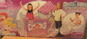 NEW: Disney Princess Design & Play GIANT Castle Activity Set