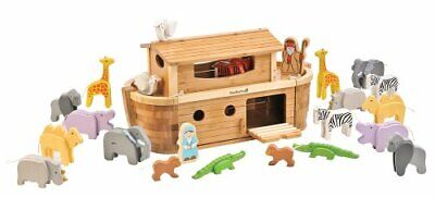 EverEarth Große Arche Noah Holzspielzeug Tiere Model Boot Holz EE30865  B-WARE