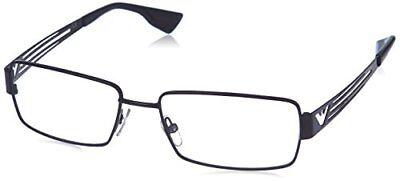 $300 Emporio Armani Men'S Black Eyeglasses Frames Glasses Optical Eye Ea (Armani Eye Frames)