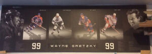 Awesome Gretzky plaqued picture with stats, all teams, awards
