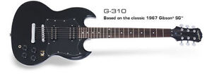Guitare Electrique* Epiphone SG G-310* DEMO* BEST PRICE *LEFT