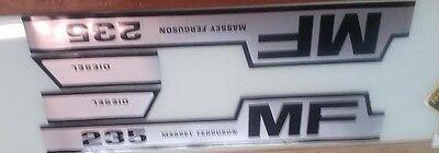Massey Ferguson 235 Hood Decals