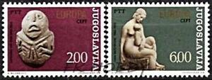 Yugoslavia 1974 Mi 1557-58 ** Union Europa Cept Skulpturen Sculptures Art - <span itemprop='availableAtOrFrom'> Dabrowa, Polska</span> - Yugoslavia 1974 Mi 1557-58 ** Union Europa Cept Skulpturen Sculptures Art -  Dabrowa, Polska