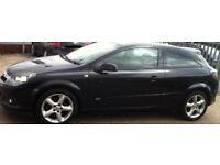 2008 Black Vauxhall Astra