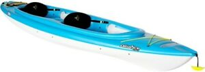 Pelican Alliance 13.6 tandem kayak special with 2 paddles