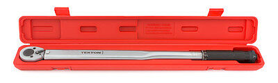 1 2 Inch Drive Click Torque Wrench 25 250 Ft  Lb    New From Tekton