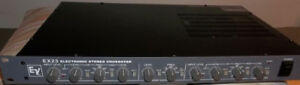 RECHERCHE/SEARCH electrovoice CROSSOVER EX23 ,ev EQUALIZER S200,