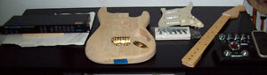 Strat ash body, Mighty Might Maple neck, Custom shop 54 pickups