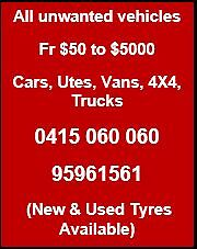 We buy all unwanted vehicles Riverwood Canterbury Area Preview