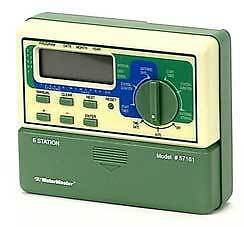 Orbit Watermaster 57161 6 Station Sprinkler Controller Timer