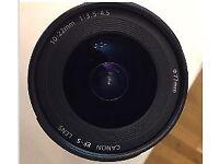 Canon EF-S 9518A002 10-22mm f/3.5-4.5 USM Lens