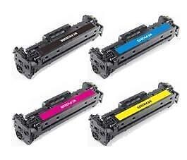 HP 201X BK/C/M/Y New Compatible Toner Cartridge High Yield Combo Set (High Yield) CF400X-CF401X-CF402X-CF403X