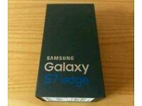 Brand new sealed Samsung Galaxy s 7 Edge rose gold factory unlocked 2 years warranty