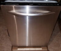 Kitchenaid superba stainless steel dishwasher