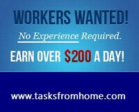 Take the easiest job to grow your income-Red deer