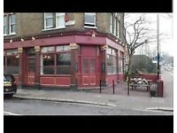 pub for rent in Woolwich 5 mins from the station