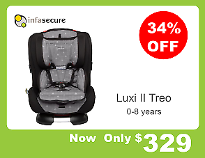 Infasecure Luxi Treo Convertible Car Seat
