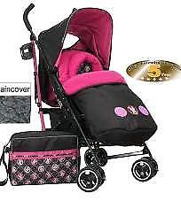 Minnie mouse stroller new boxed