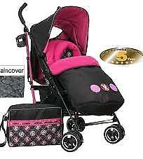 Minnie mouse stroller brand new boxed