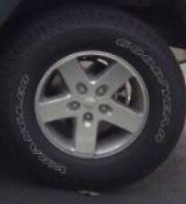 Selling 5 Goodyear Wrangler SR-A Tires on Factory Alloy Rim