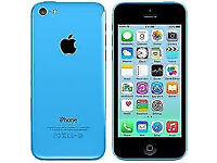 APPLE iPhone 5C 8GB BLUE, MINT CONDITION, WITH ACCESSORIES, UNLOCKED, 6 MONTHS WARRANTY, USB CHARGE