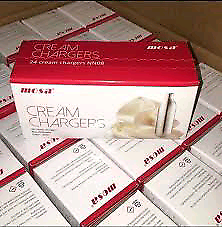 Mosa cream chargers collection and delivery nos